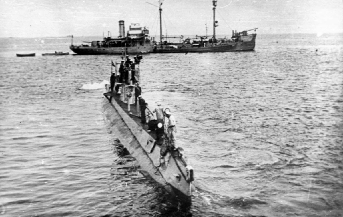подводная лодка шахтер
