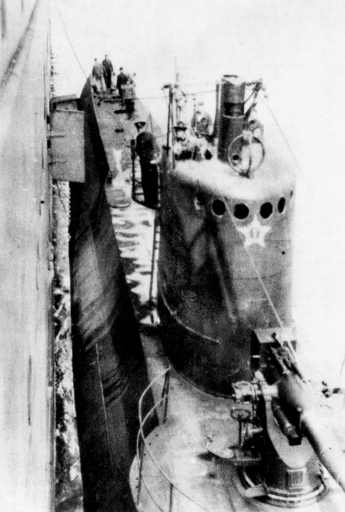 нашли подводную лодку декабрист