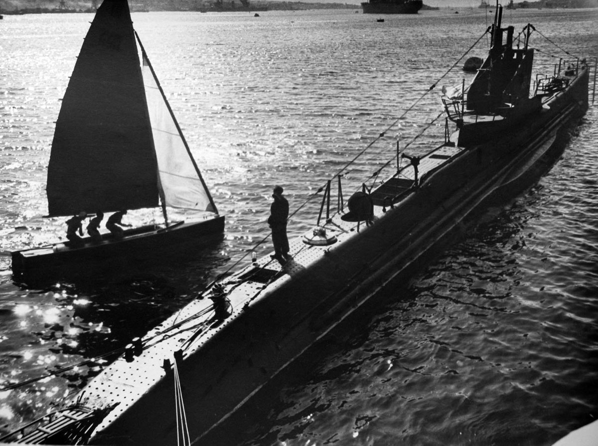 Советская подводная лодка