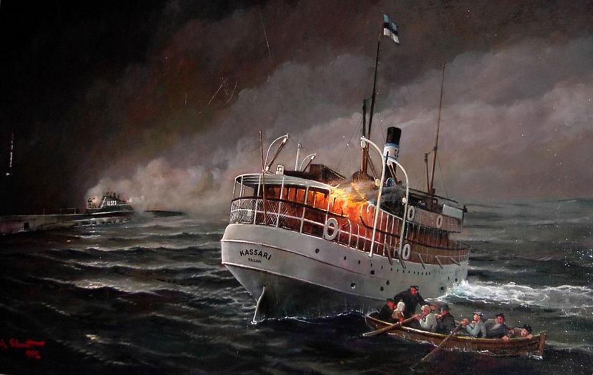 лодка к 323