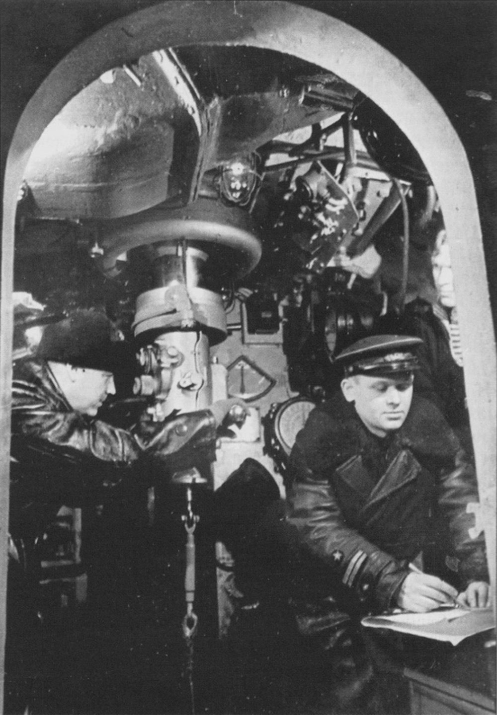 у подводной лодки перископ у человека