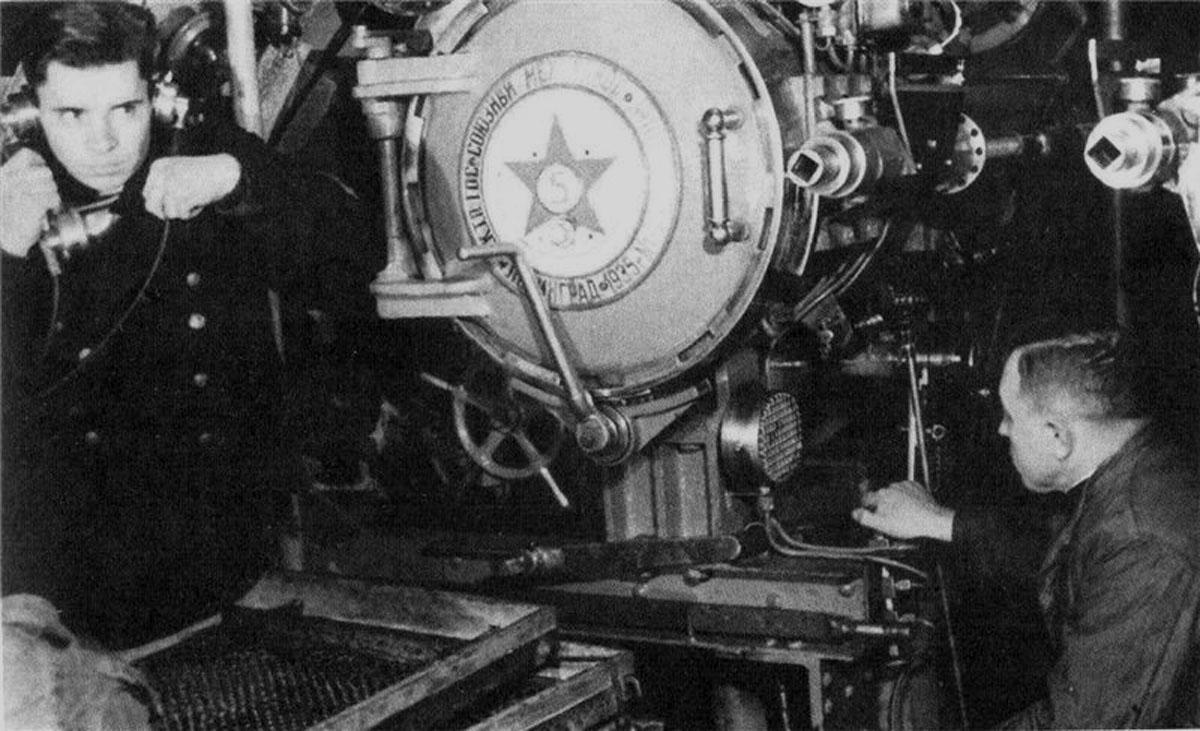 экипаж подводной лодки минога