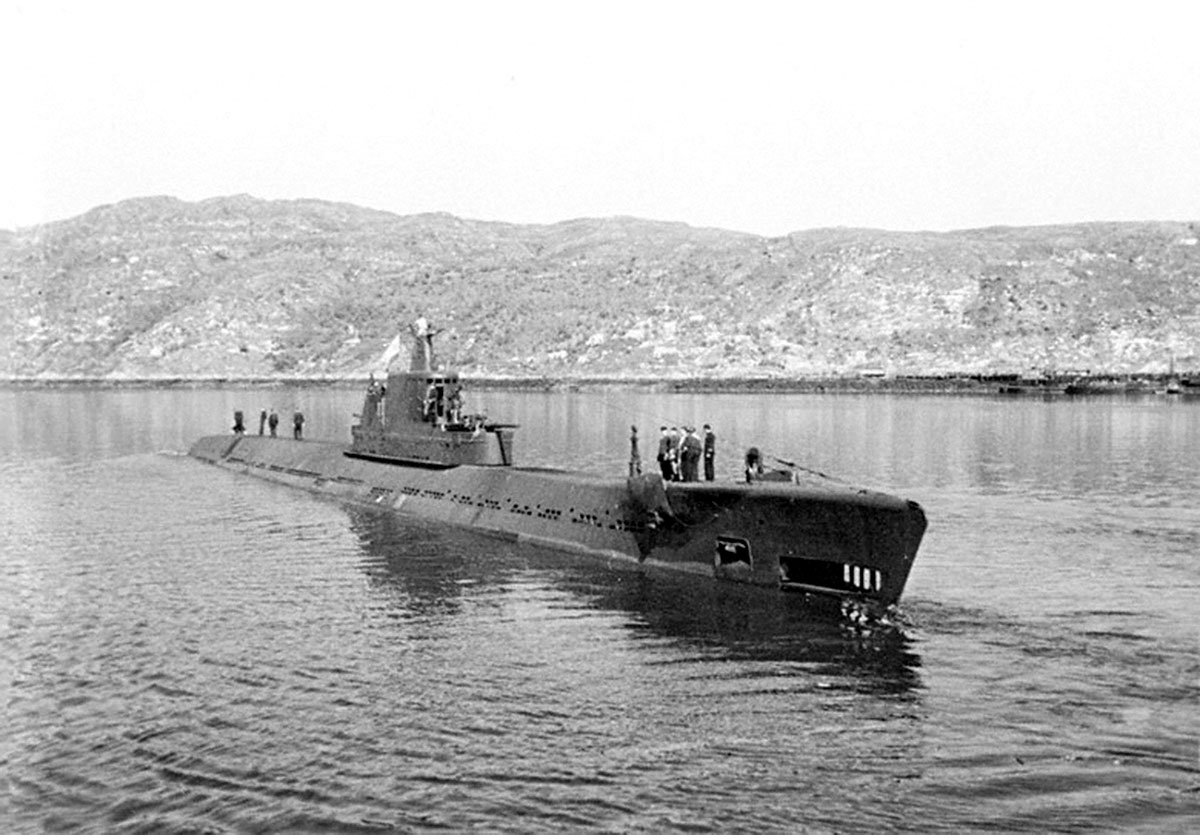 северный речной порт подводная лодка