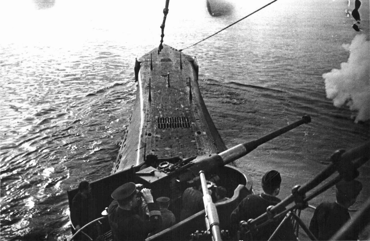 боевые походы подводных лодок в великую отечественную