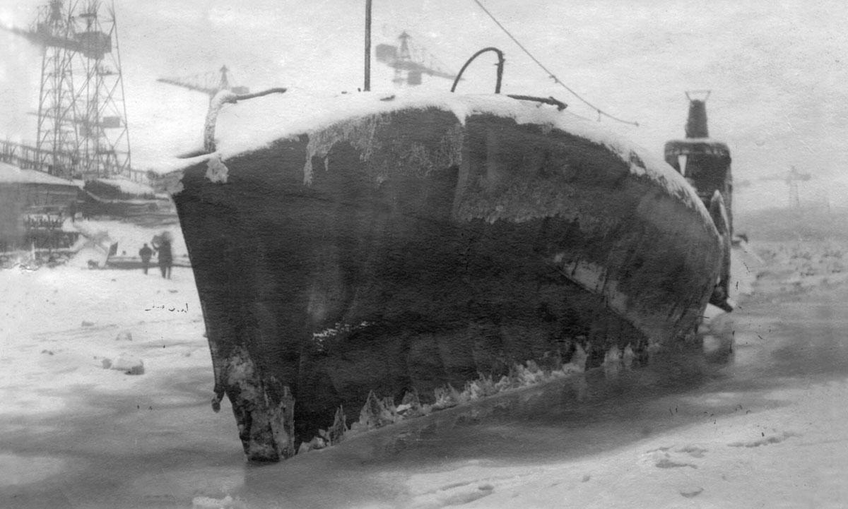 лодка с113