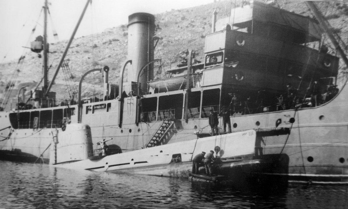 количество подводных лодок в советском союзе