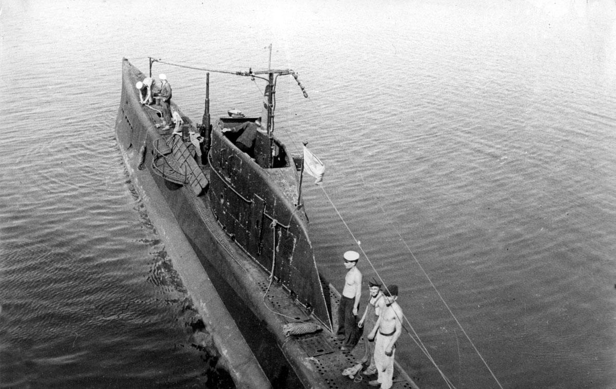 подводная лодка малютка 12 серии