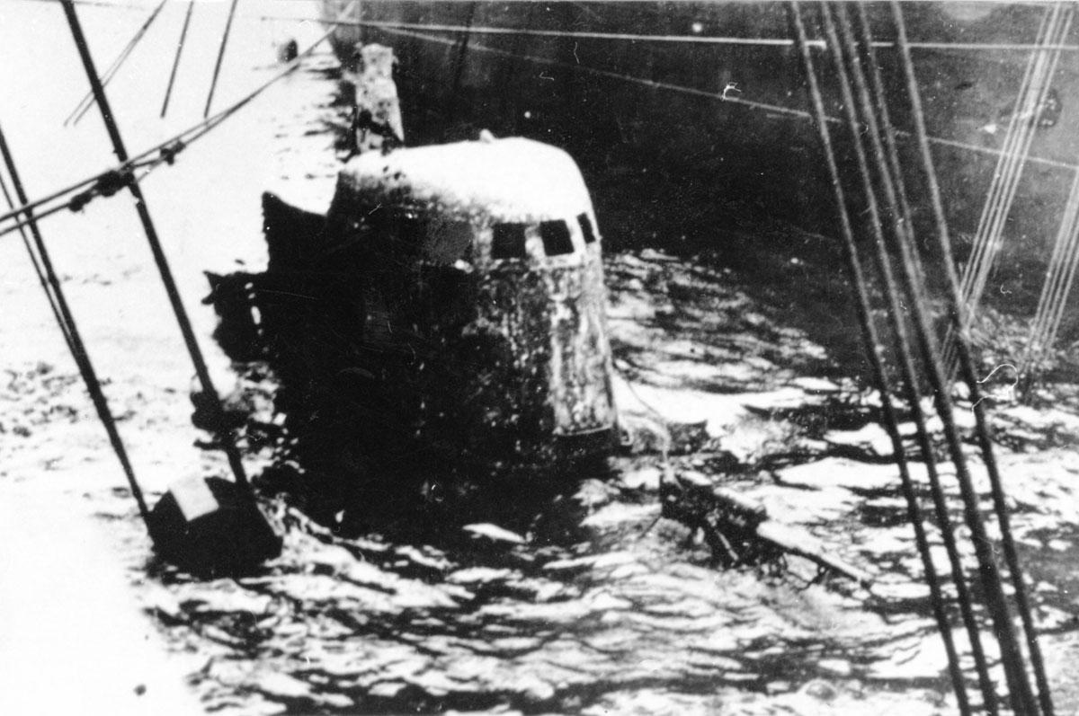 подъем советской подводной лодки