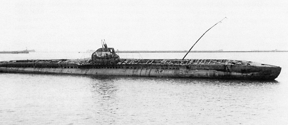 подъем подводной лодки щука