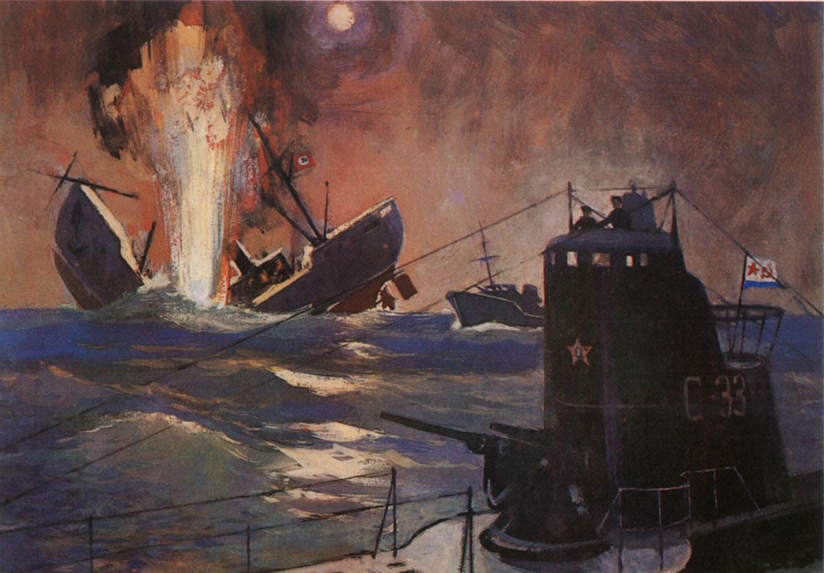 лодка советская подводная