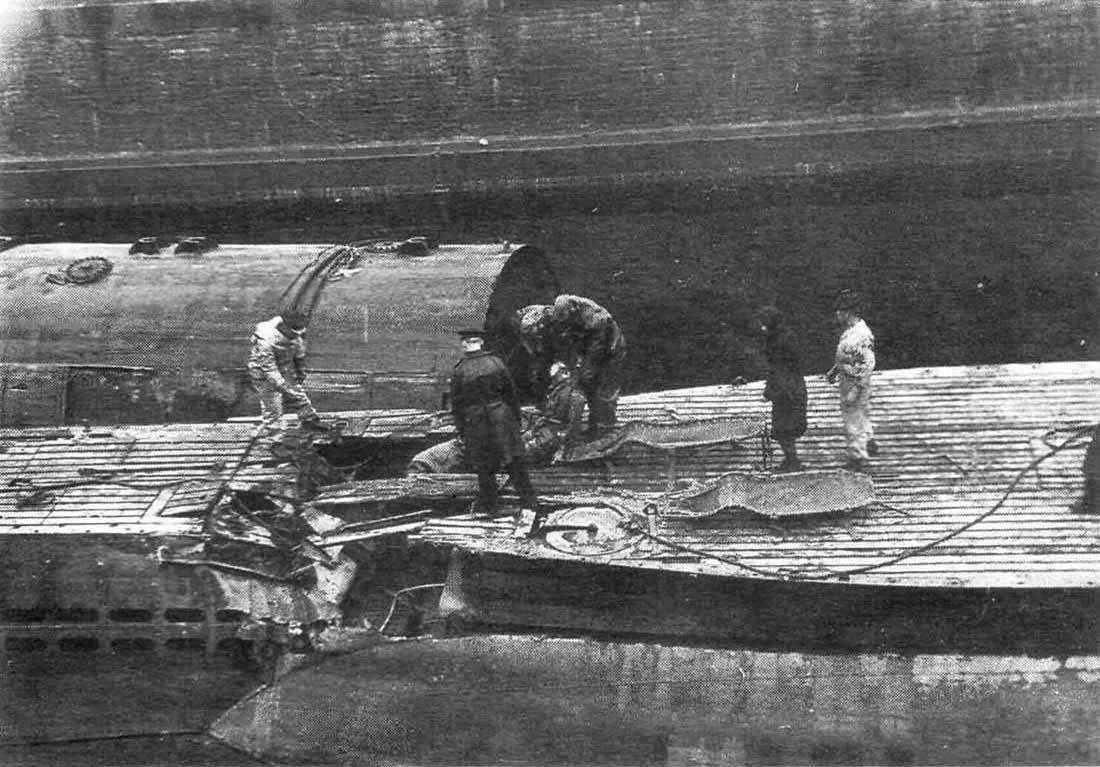 фото подводников тела погибших