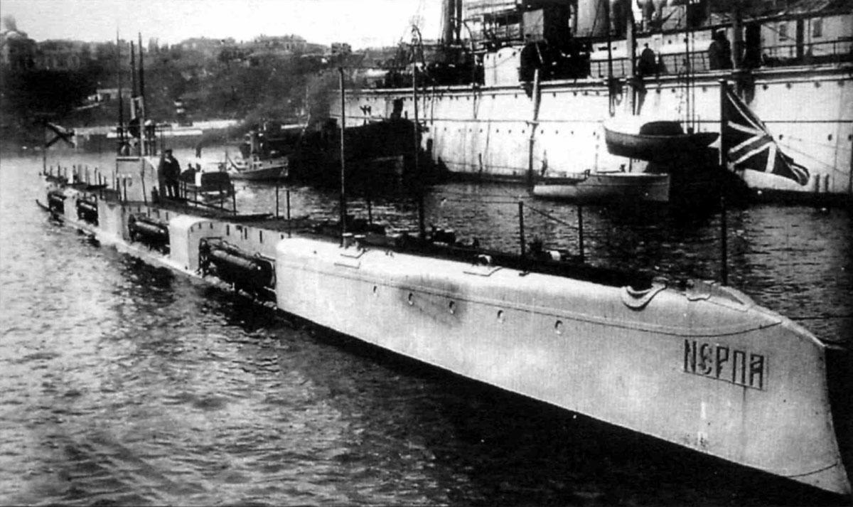 подводные лодки нерпичья